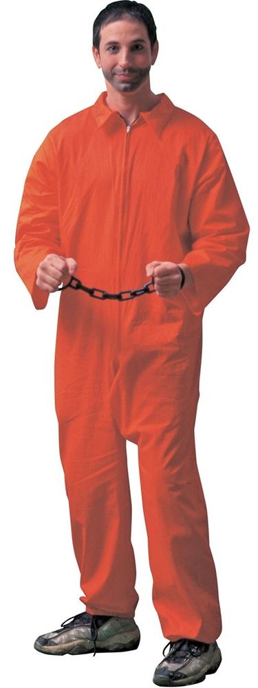 Jailbird Adult Mens Costume ()