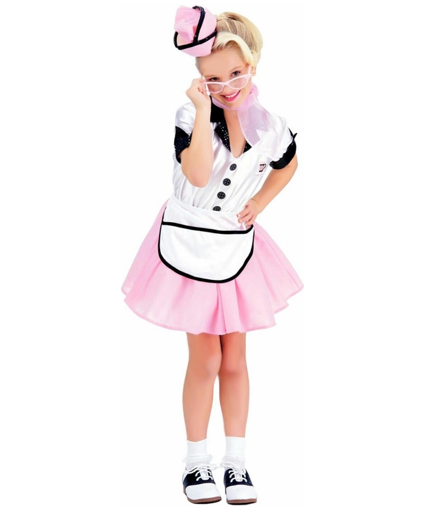 Soda Pop Girl Child Costume