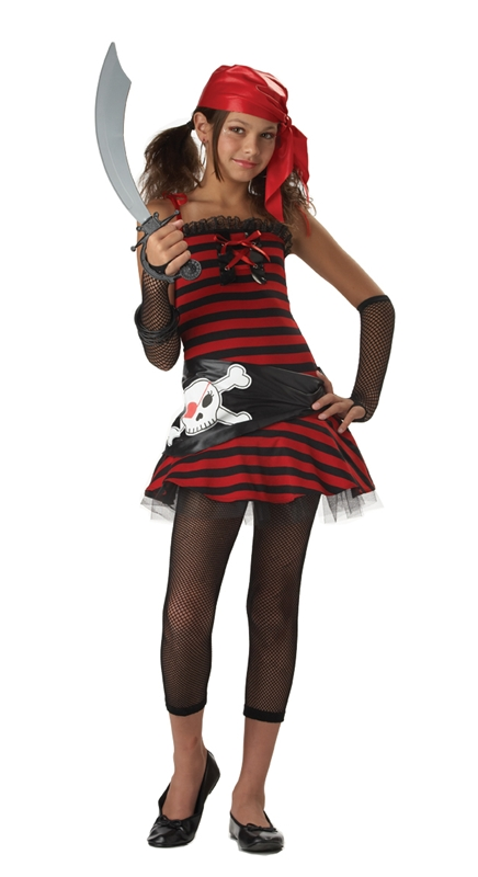 Pirate Girl Cutie Tween Costume