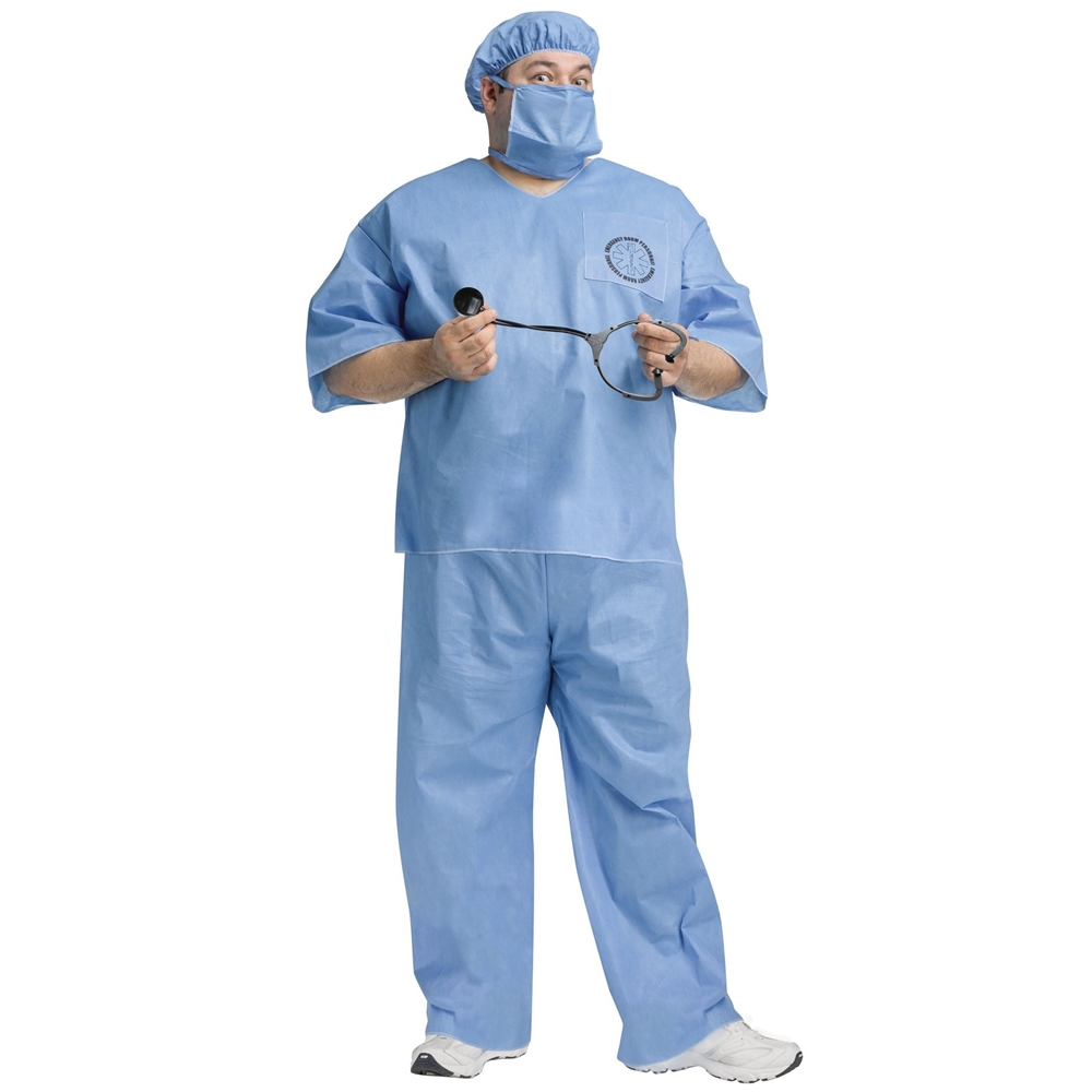 Doctor Doctor! Adult Mens Plus Size Costume