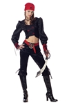 Gothic Pirate Tween Costume