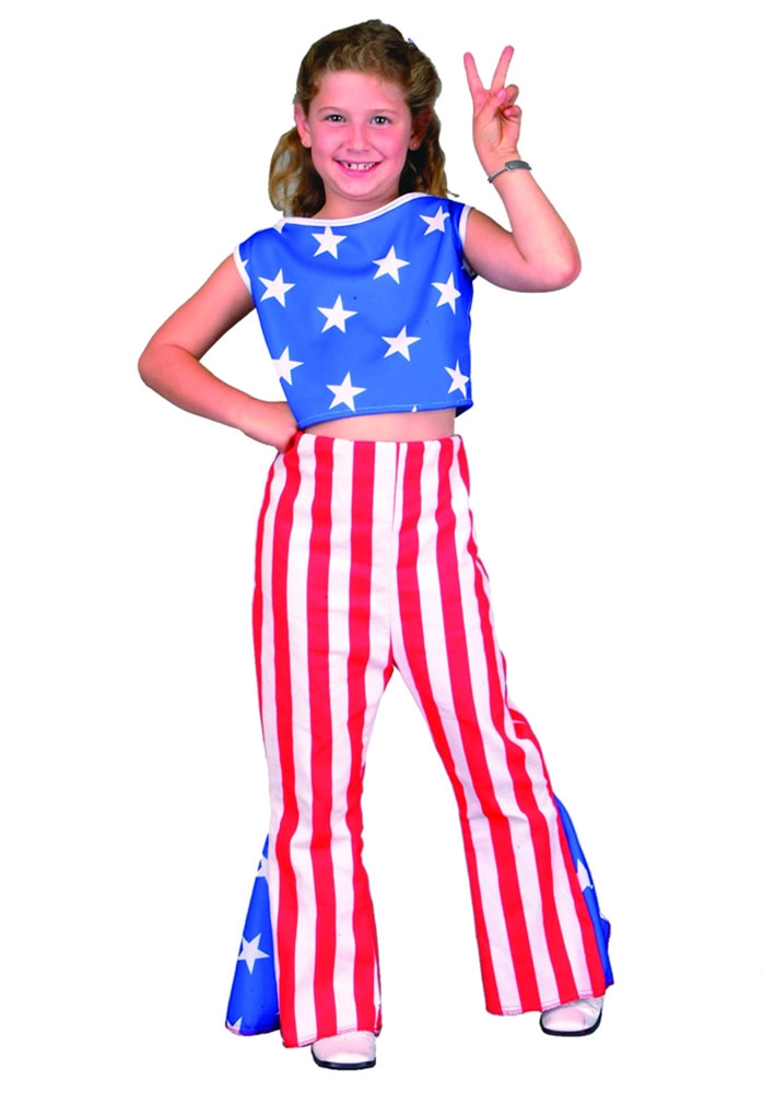 Patriotic Girl Child Costume
