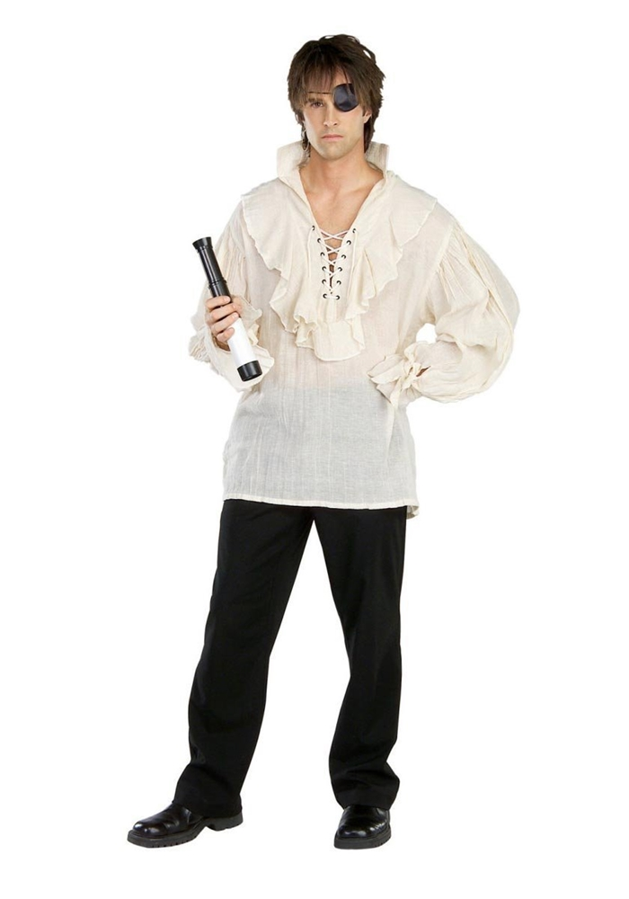 Pirate Shirt Adult Mens Costume by Rubies