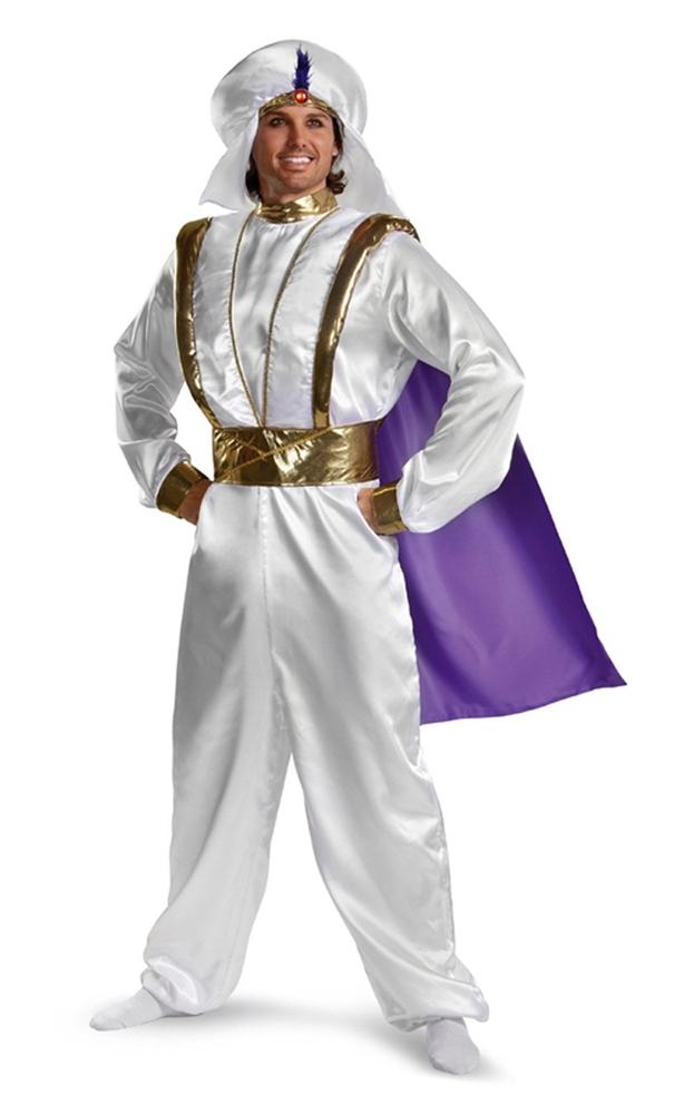 Aladdin Prestige Adult Mens Costume (Aladdin Mens Costume)