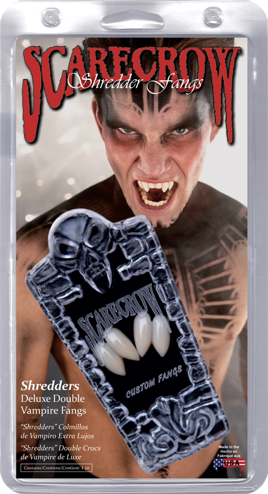Shredders Deluxe Double Vampire Fangs