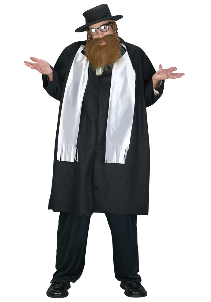 Jewish Rabbi Adult Mens Costume