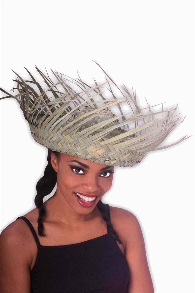 Straw Bird's Nest Hat