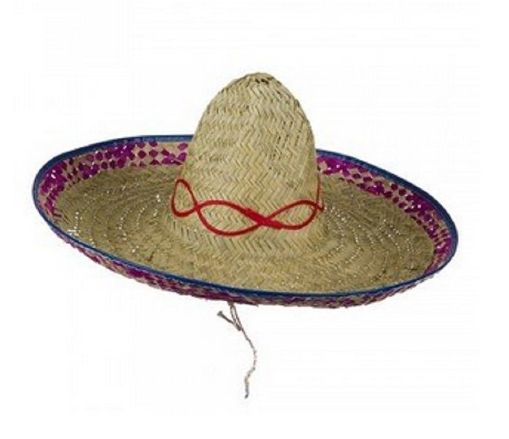 Sombrero Straw Adult Hat (Adult Hats)