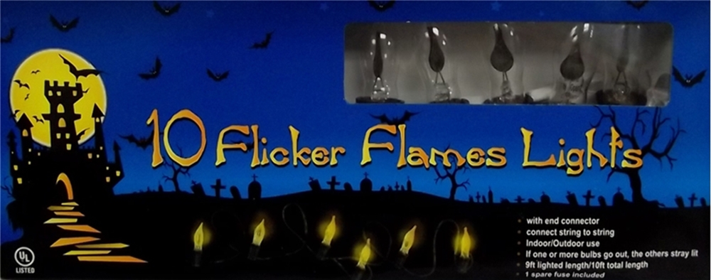 Image of 10 Flicker Flame Lights