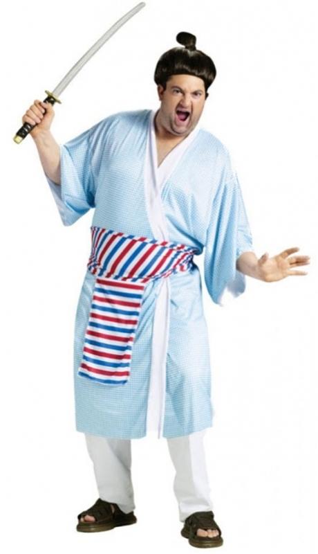 Samurai Futaba Adult Mens Costume