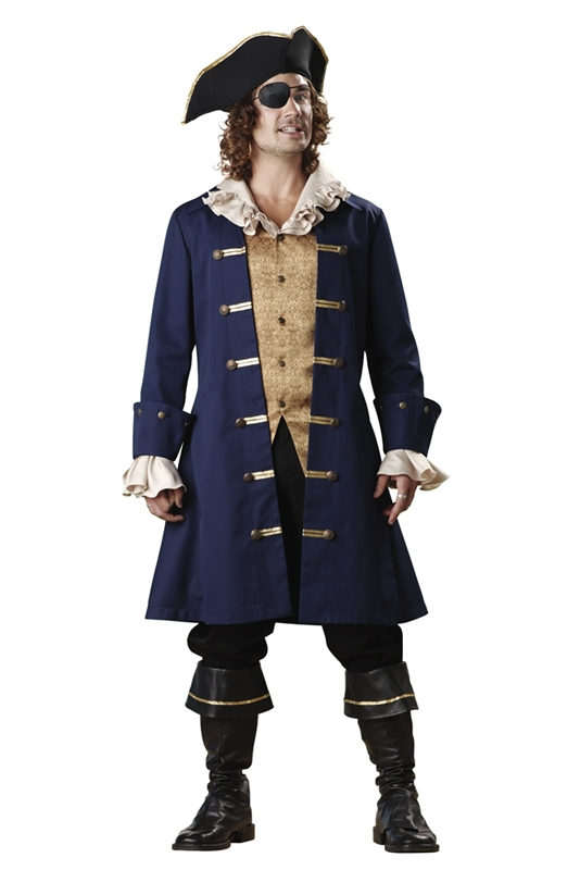 Pirate Cutthroat Adult Mens Costume