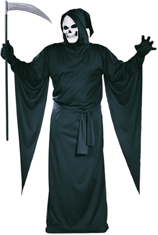 Grim Reaper Plus Size Adult Mens Costume