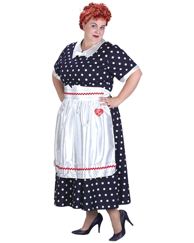Lucy Polka Dot Plus Size Costume