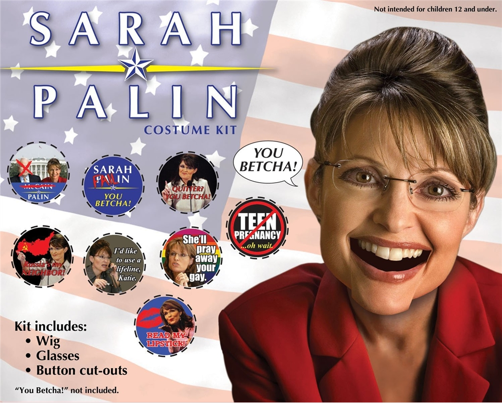 Palin Costume Kit