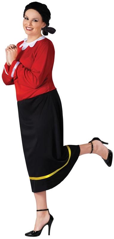 Popeye Olive Oyl Plus Size Adult Womens Costume