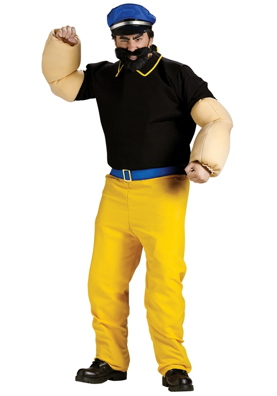 Popeye Brutus Adult Mens Costume