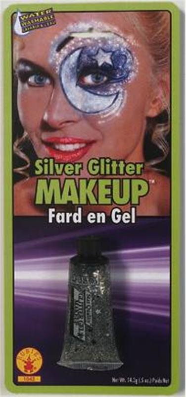 Silver Glitter Makeup