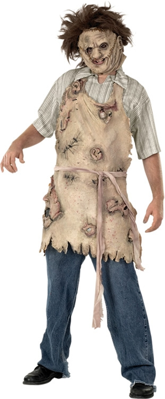 Texas Chainsaw Massacre Leatherface Deluxe Adult Apron of Souls