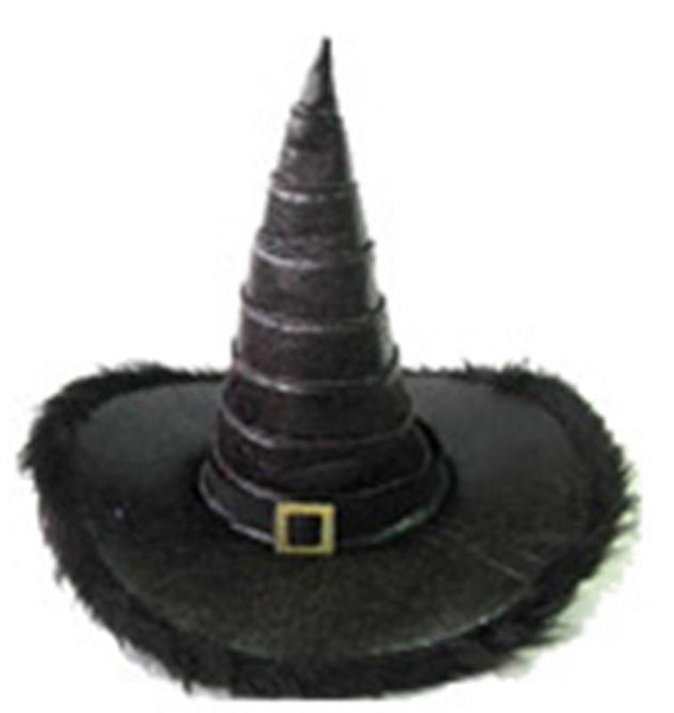 Купить Faux Leather Witch Hat
