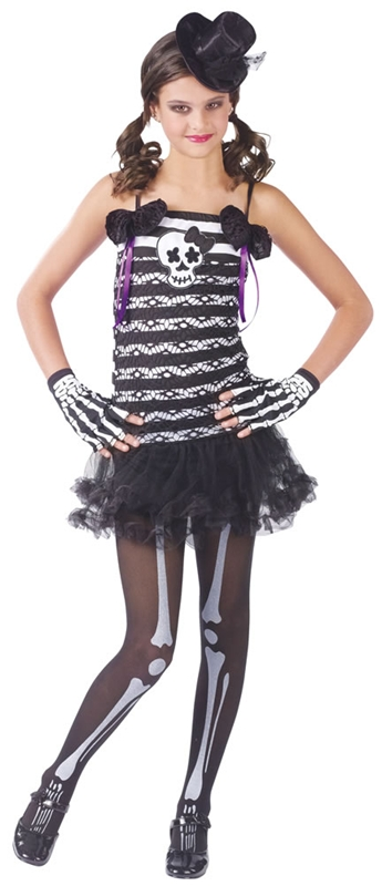 Skeleton Sweetie Child & Teen Costume