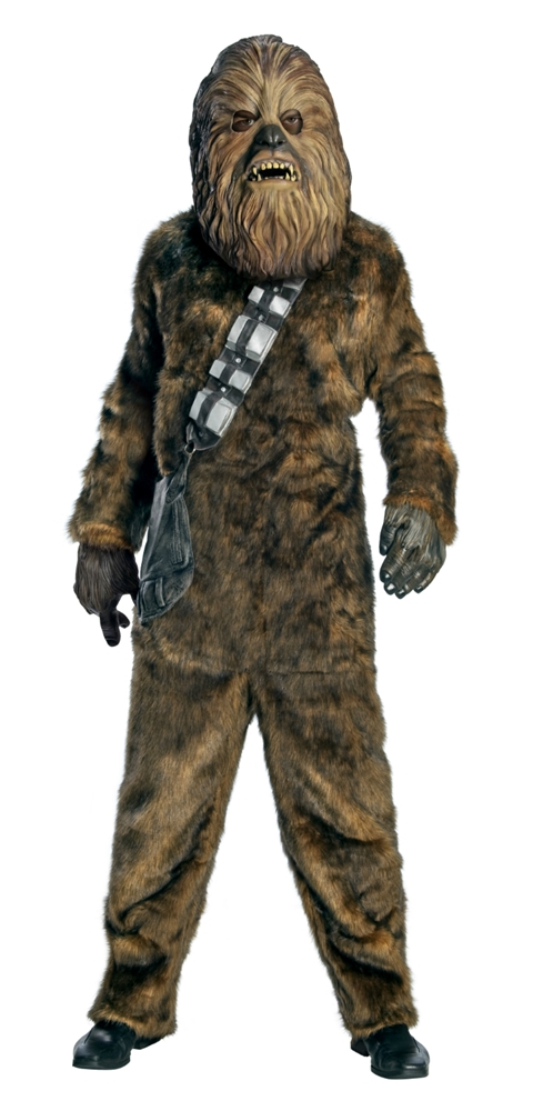 Star Wars Deluxe Chewbacca Adult Mens Costume (Star Wars Chewbacca Costume)