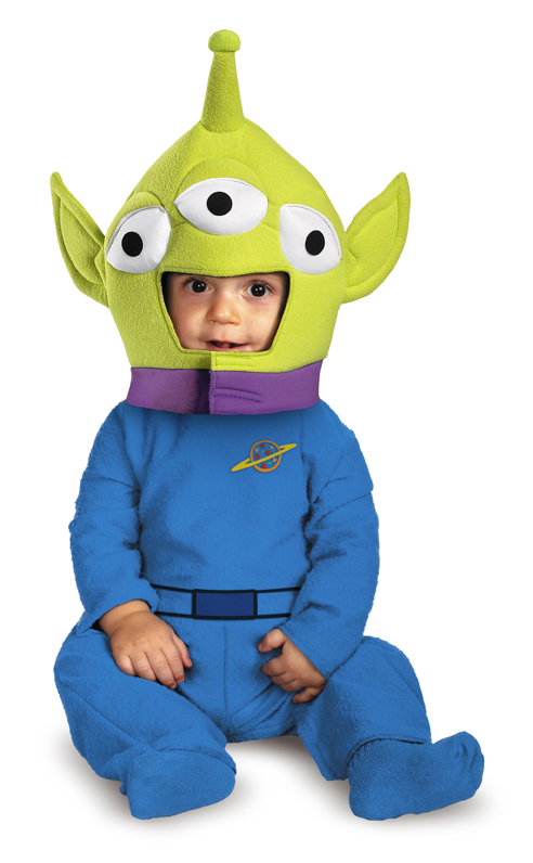 Toy Story and Beyond! Alien Classic Infant Costume