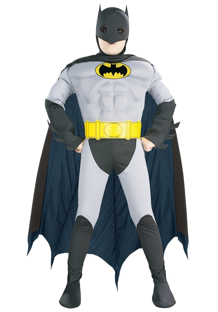 Classic Batman Muscle Chest Child Costume