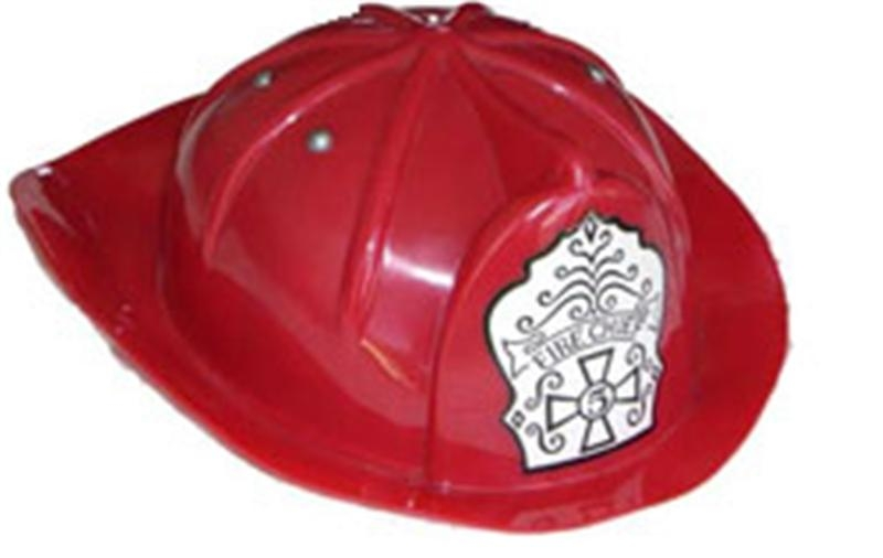 Red Fireman Child Hat by China Products Corp