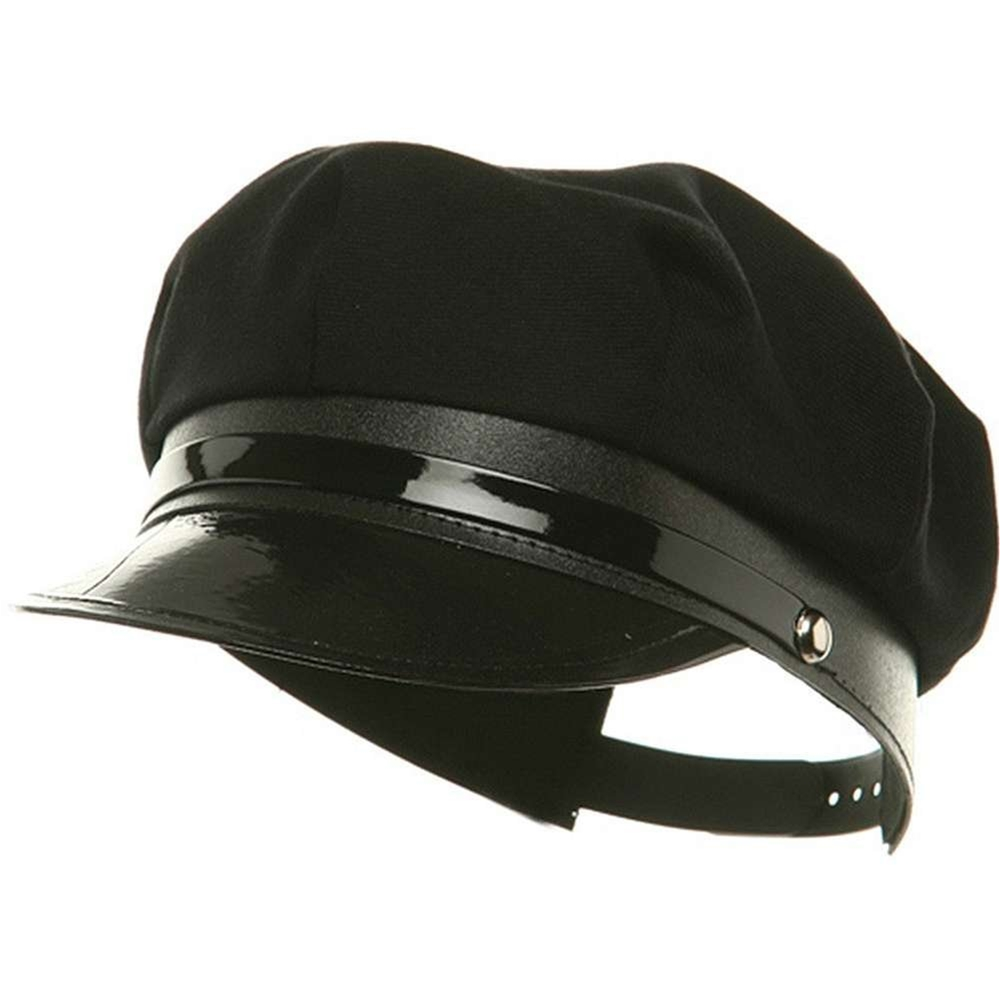 Black Chauffeur Adult Hat