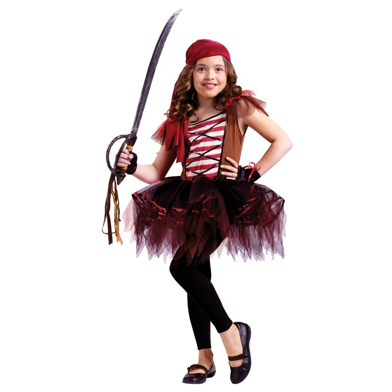 Ballerina Pirate Child Costume