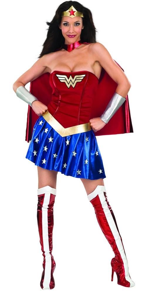 Wonder Woman Deluxe Adult Womens Costume (Wonder Women)