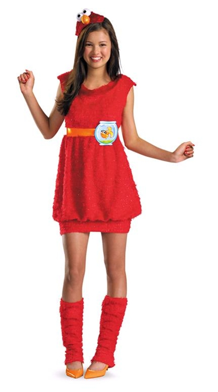 Elmo Dress Girls Costume