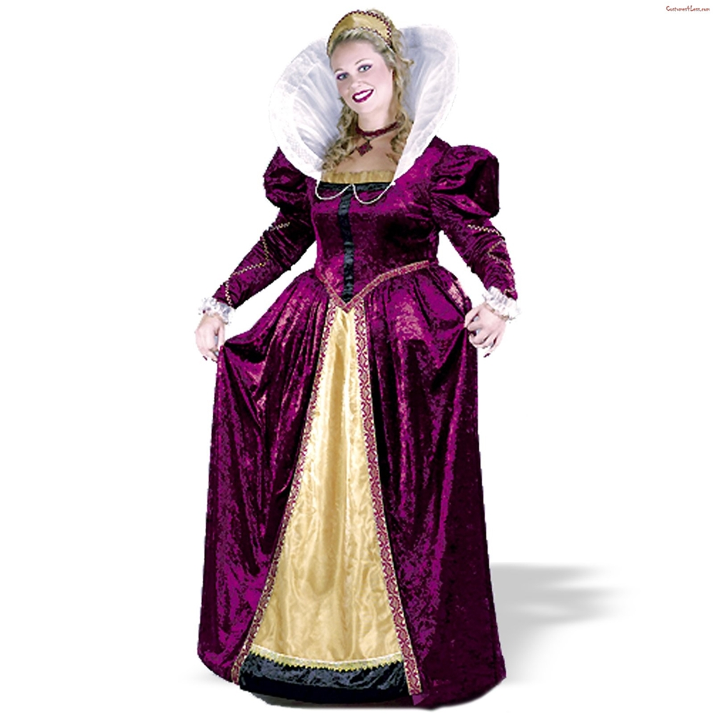 Queen Elizabeth Plus Size Costume by Fun World