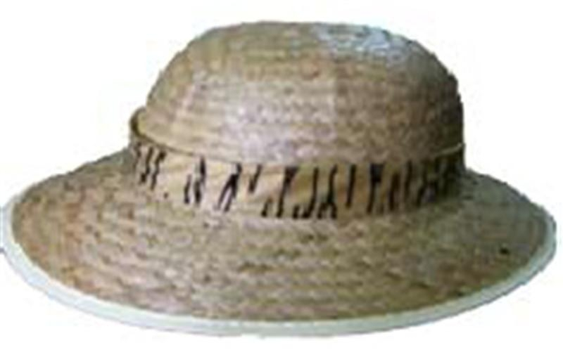 [Safari Straw Hat] (Straw Safari Hat)