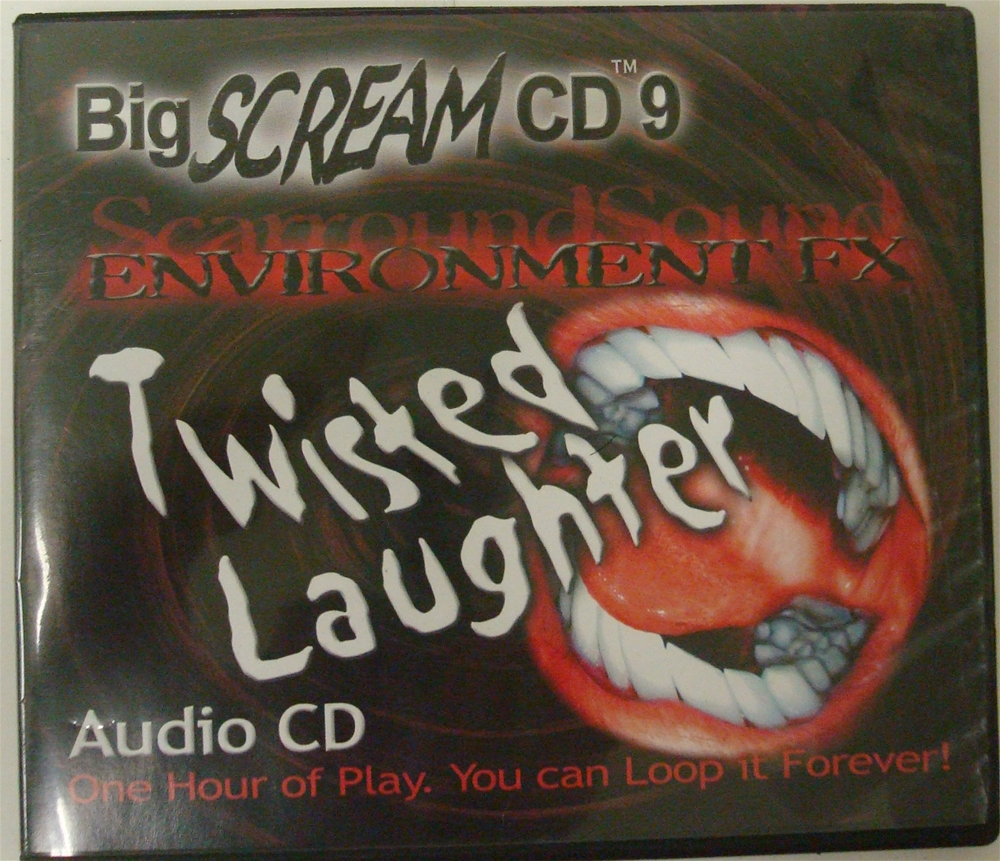 Big Scream Twisted Laughter Environment FX CD