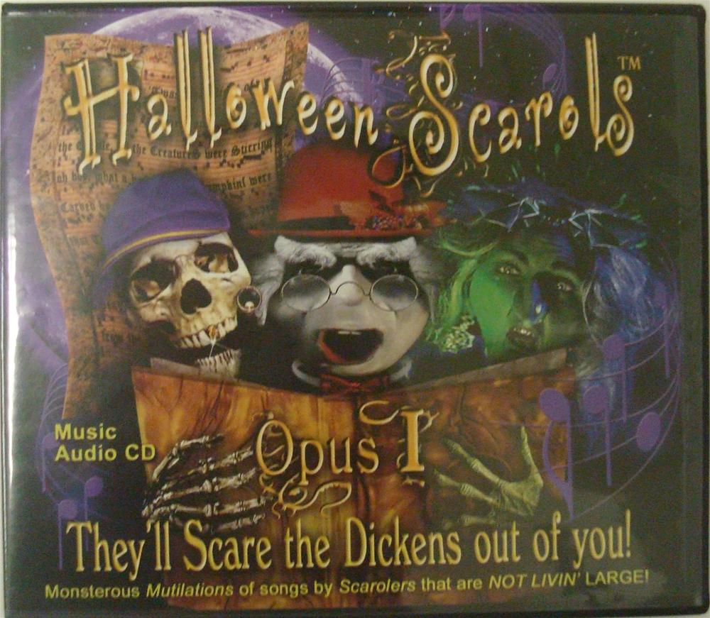 Image of Big Scream Halloween Scarols Opus I CD