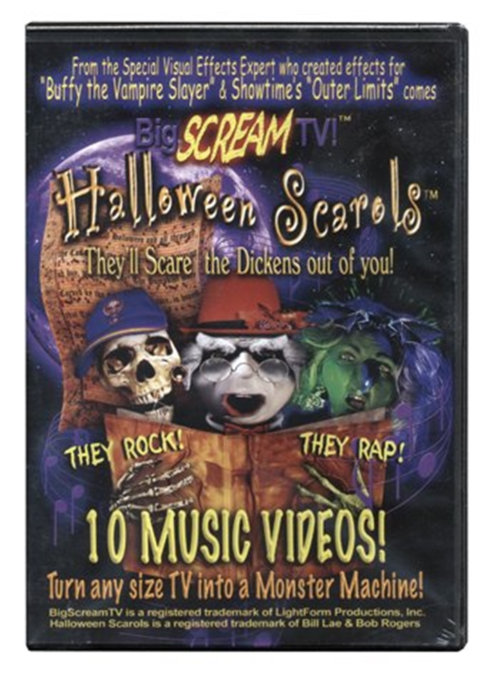 Big Scream Halloween Music Video Scarols Vol. 5 DVD