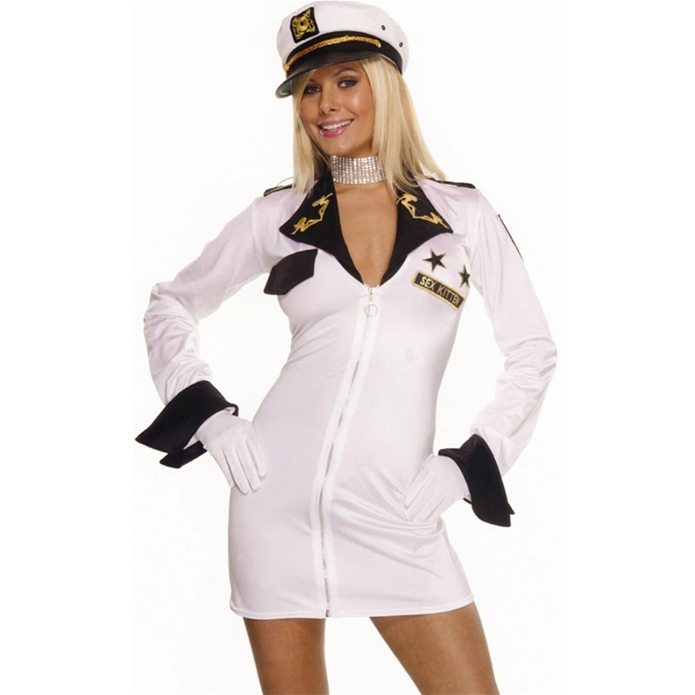 Sexy Kitten Soldier Adult Costume (Sexy Soldier Costumes)