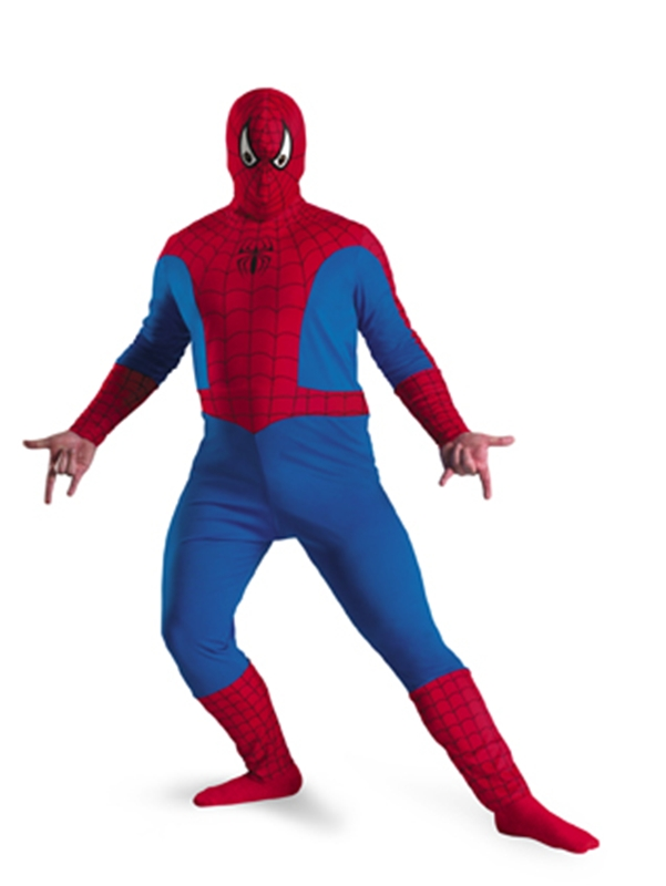 Marvel Spider-Man Plus Size Adult Mens Costume