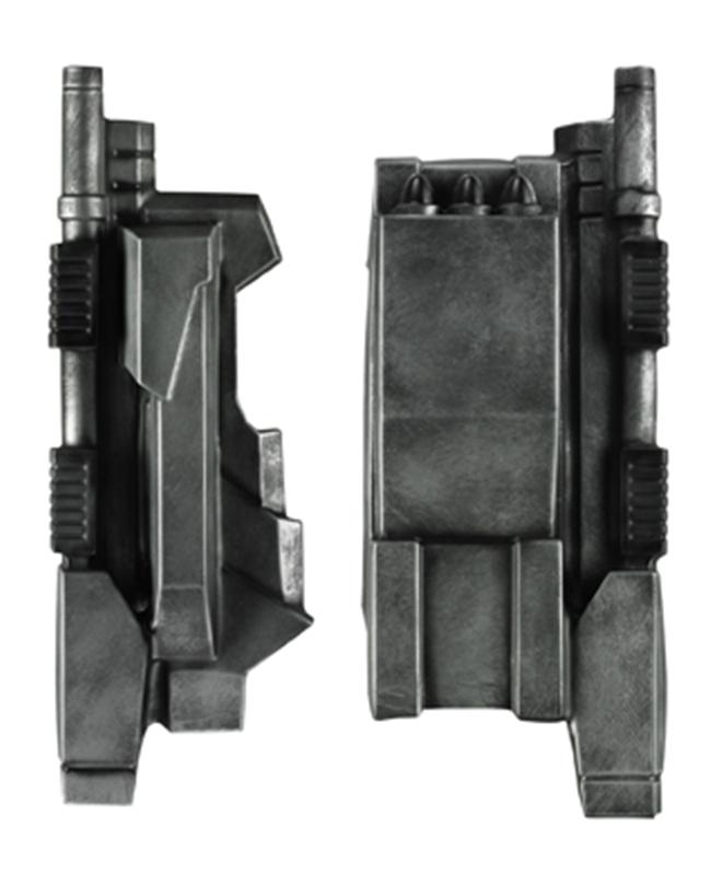 Marvel Iron Man War Machine Rocket Gauntlets 11680
