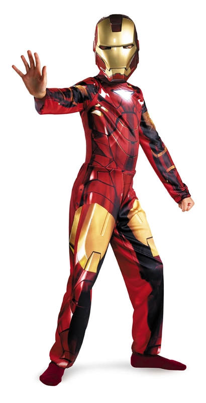 Marvel Iron Man Eco Classic Child Costume