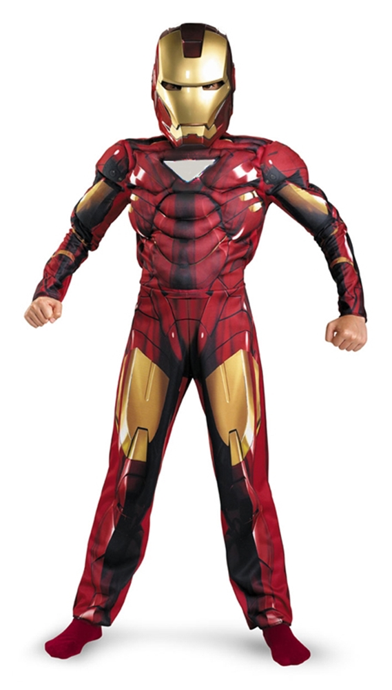 MarvelIron Man 2 Mark VI Classic Muscle Child Costume