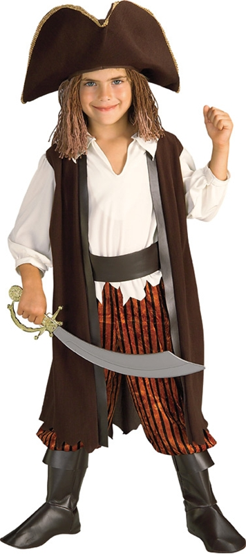 Caribbean Pirate Child Costume