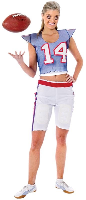 Football Player Girl Halloween Costume