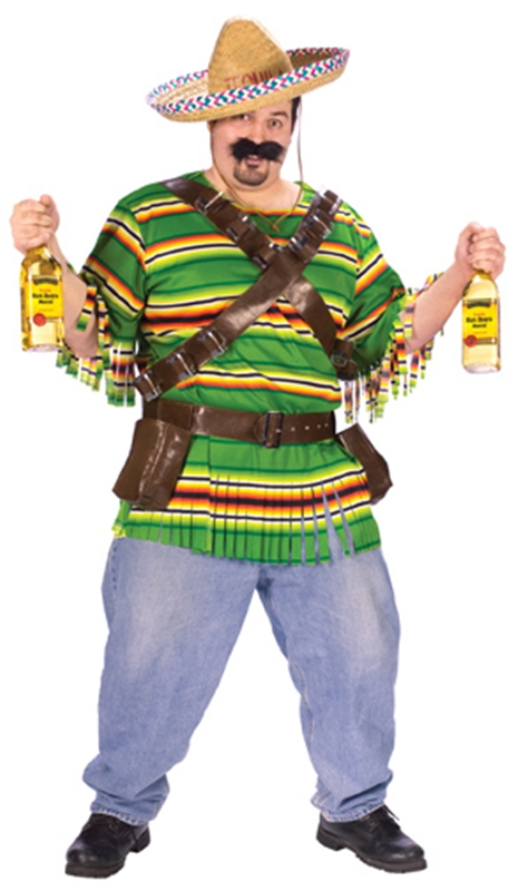 Tequila Pop N Dude Plus Size Adult Mens Costume