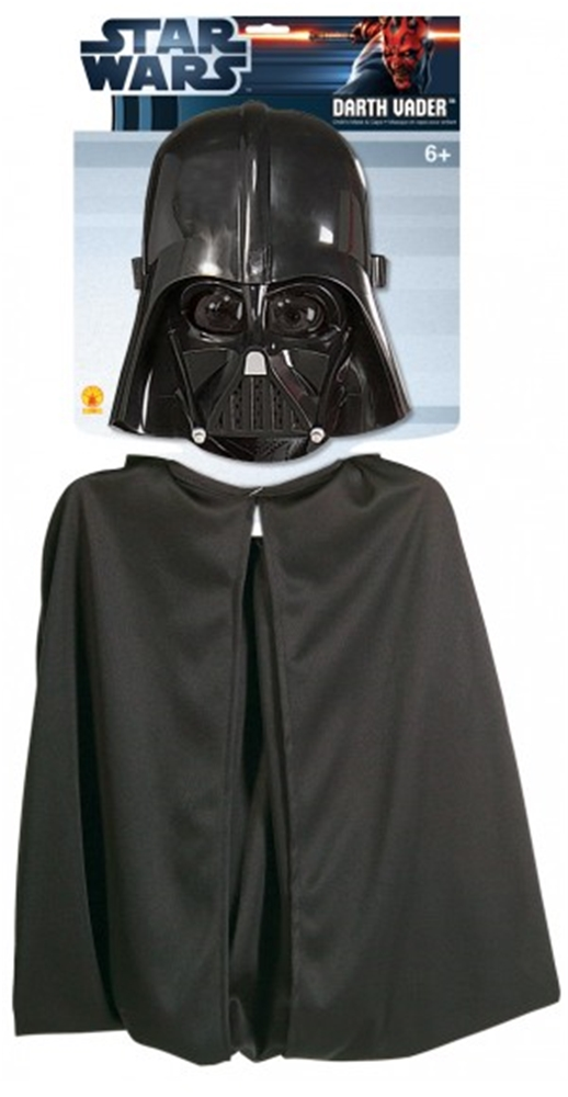 Star Wars Darth Vader Childs Cape And Mask Set 1198