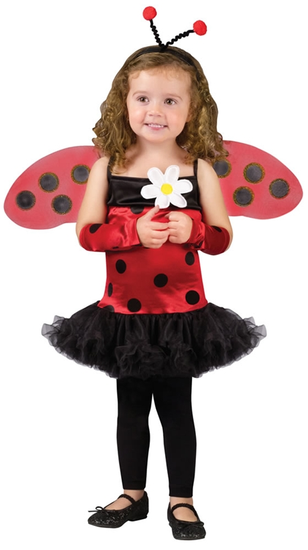 Cute Lady Bug Toddler Costume