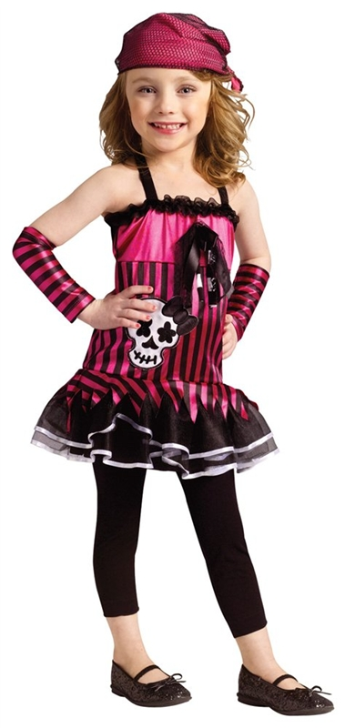 Rockin Skull Pirate Toddler Costume