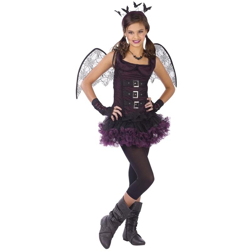 [Night Bat Tutu Child & Junior Costume] (Night Bat Tutu Child & Junior Costumes)