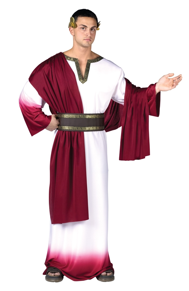 Deluxe Caesar Adult Mens Costume